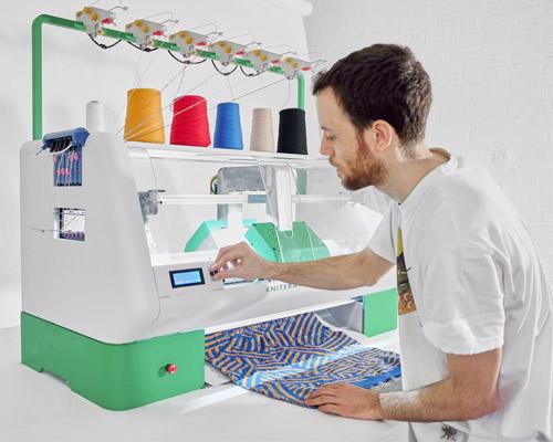 آشنایی با چاپگر سه بعدی بافتنی Kniterate